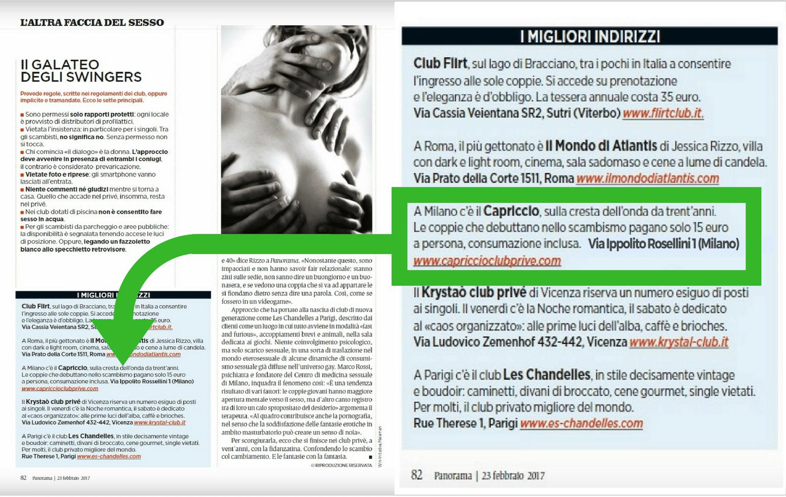 recensione migliore club privè milano, opinioni locali trasgressivi giovani italia